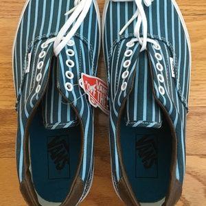Striped Blue Era Vans